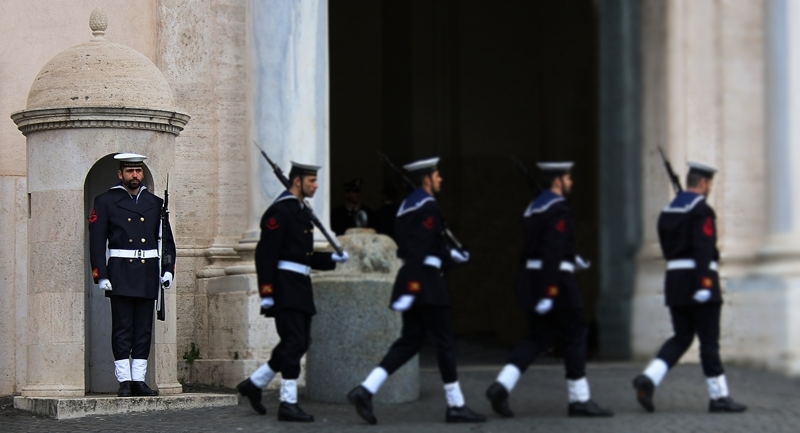 Sentinelle Guarda Quirinale Roma