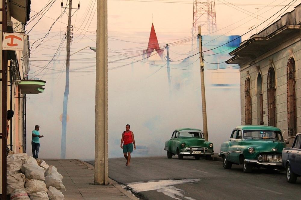 lutte contre moustiques Cuba Zika