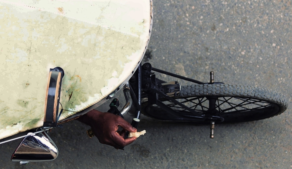 taxi bike Habana
