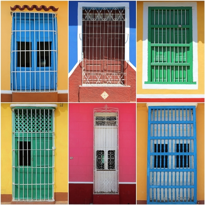 windows of cuba