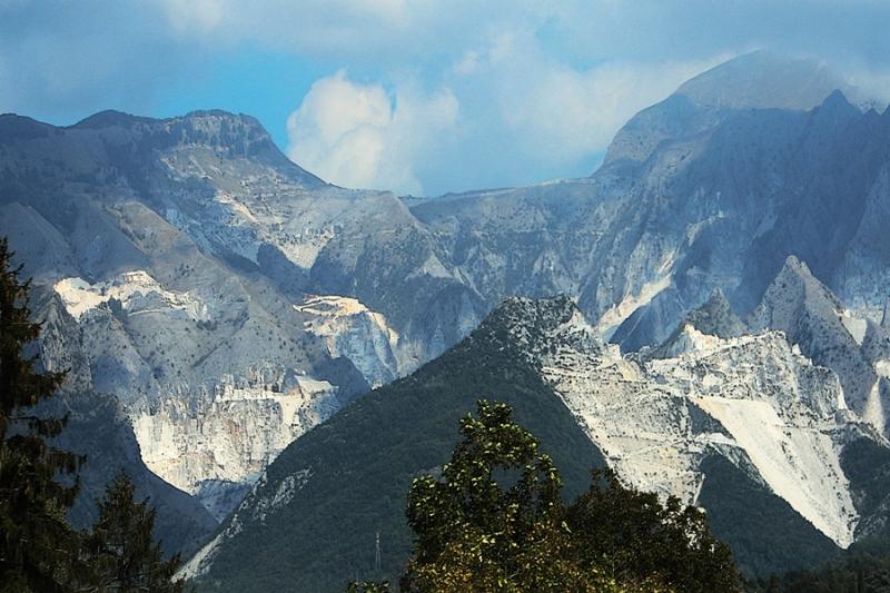 Carrières de marbre de Carrara