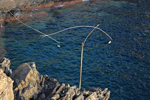 Sculpture Mobile Manarola Cinque Terre Italia