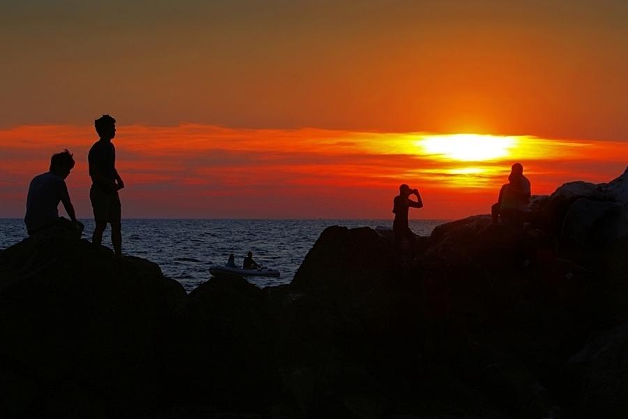 sunset riomaggiore
