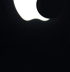 Eclipse seen from NY. ; )