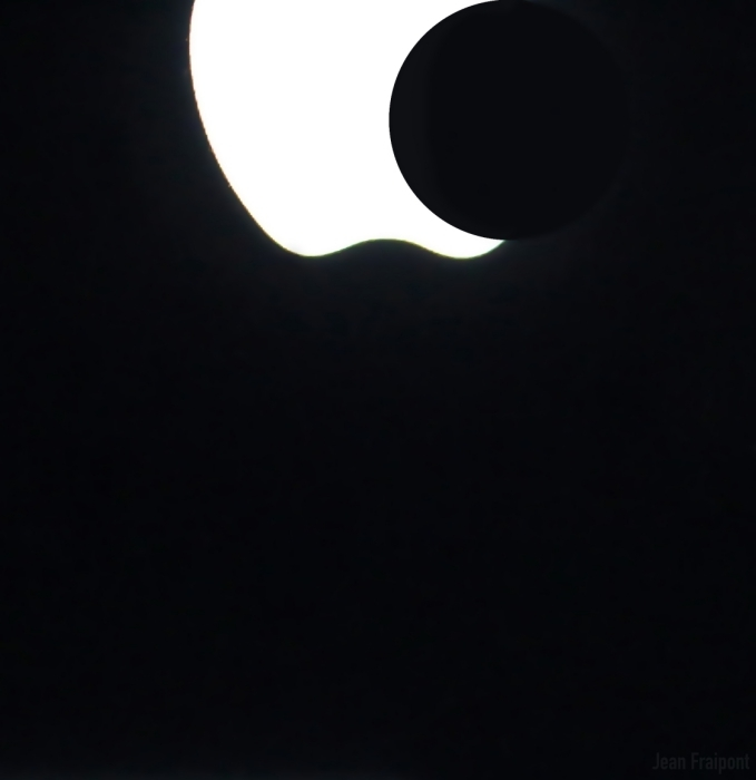 Eclipse seen from NY. ;-)