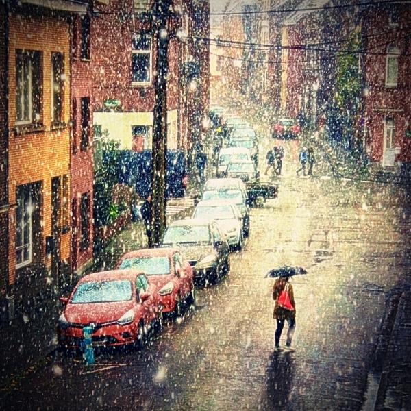 first snow street