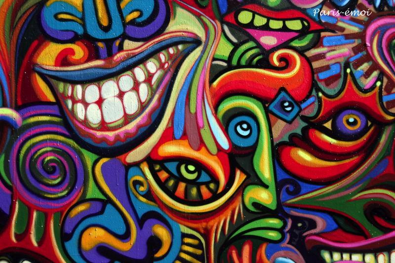 shaka nosbe graffiti paris graffs