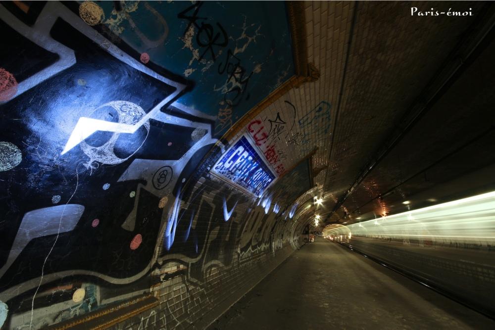 urbex métro subway paris