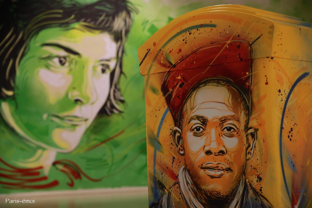 """""""Douce France"""" by C215"""
