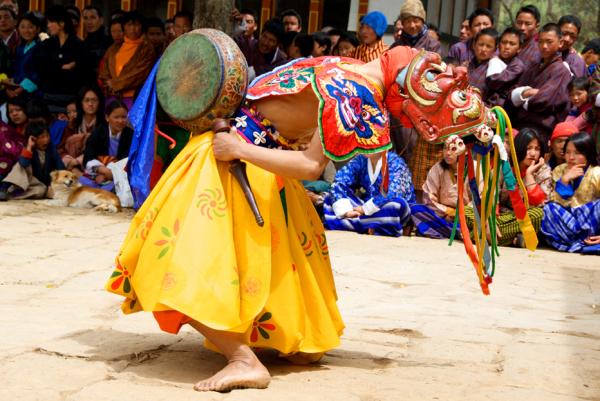 Dancer, Bhutan