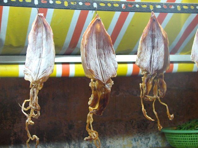 Dried Squid in Saigon