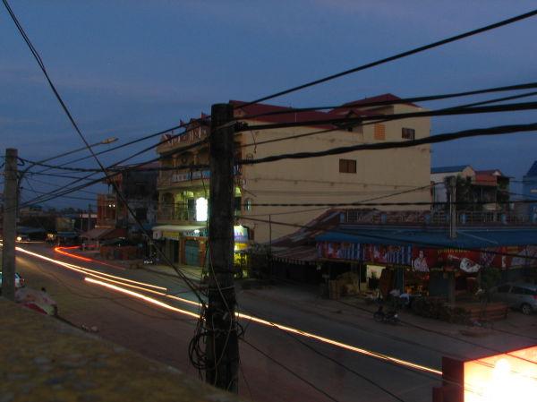 Dusk at Kampot
