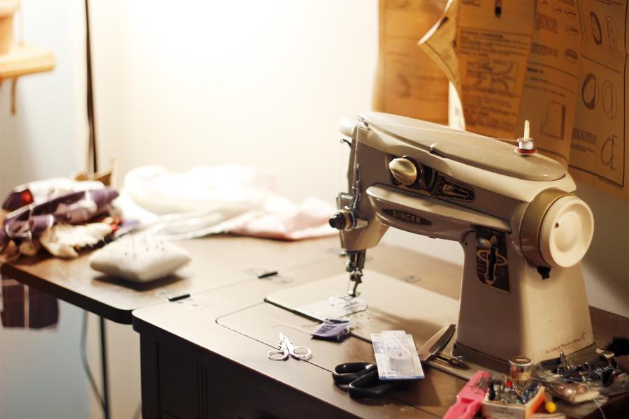 Grand Ma's Sewing Machine
