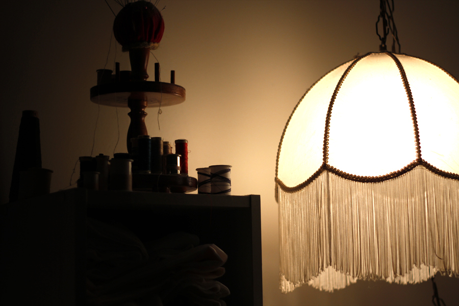 Grand Ma's Lamp