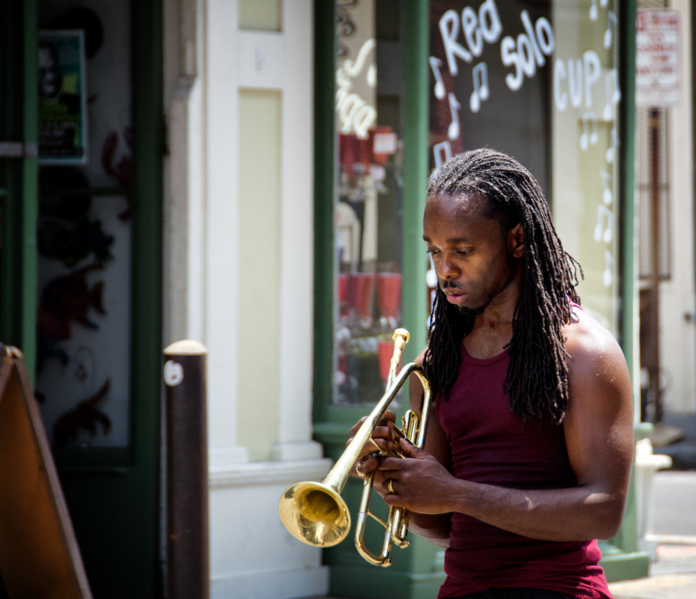 Music In The Streets Of New Orleans 3/3
