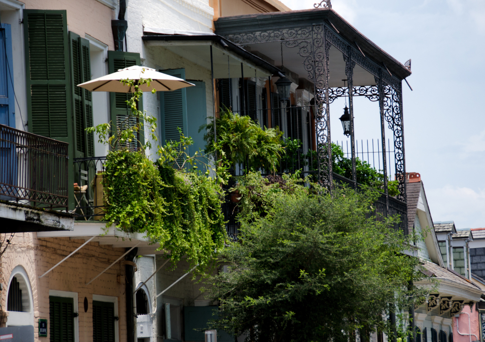The French Quarter Balconies 2/4