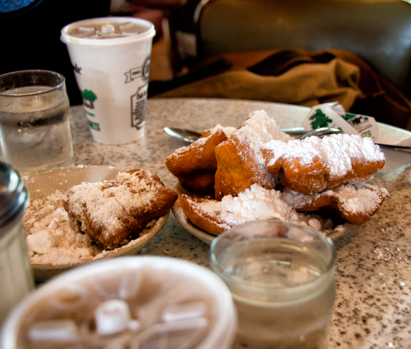 Breakfast at Cafe Du Monde