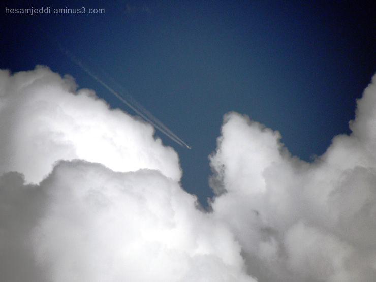 Embrace cloud- در آغوش ابر
