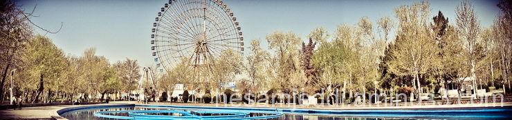 panorama - mellat park -mashhad