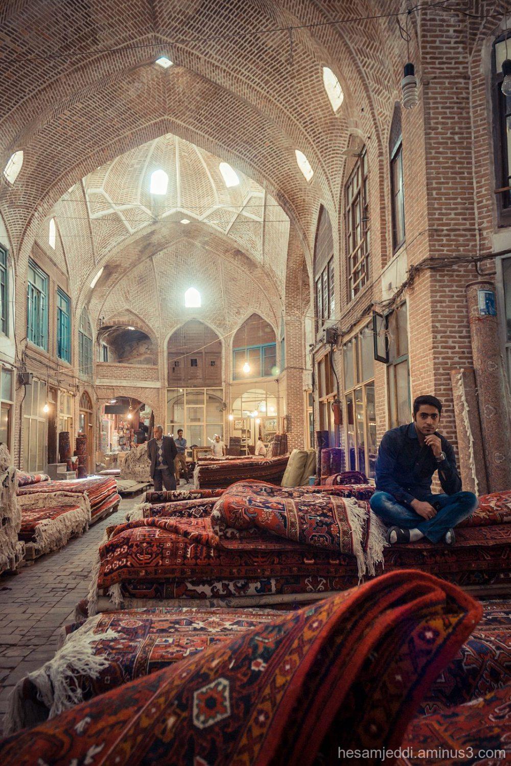in carpet bazar