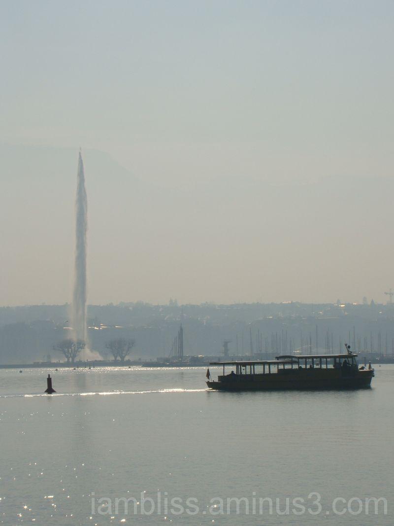 Mist lifting up...