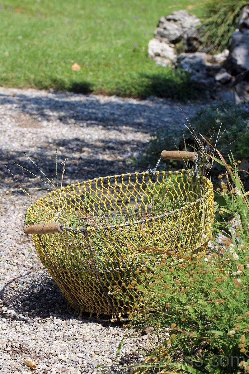 Another gardener's basket