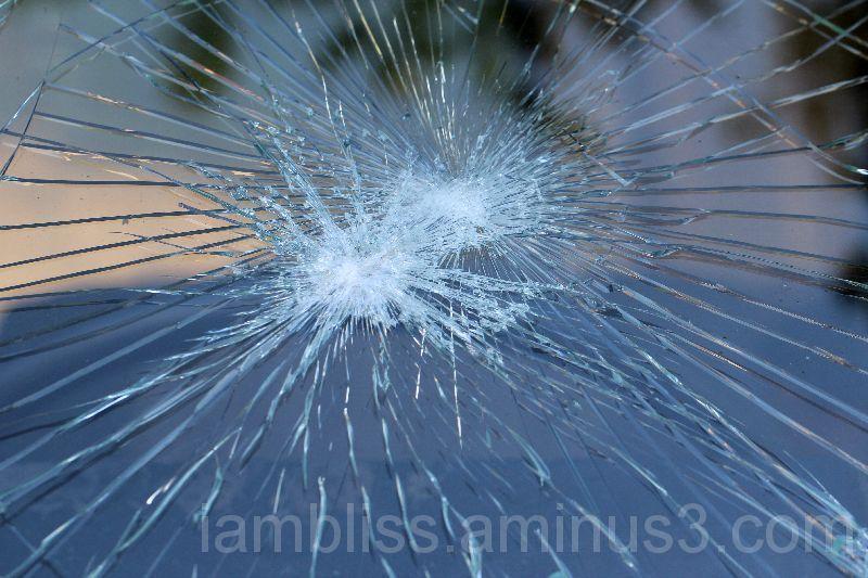Crossed glass