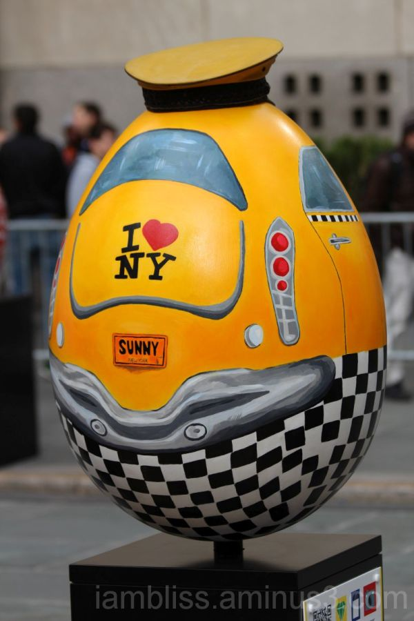 The yellow cab egg