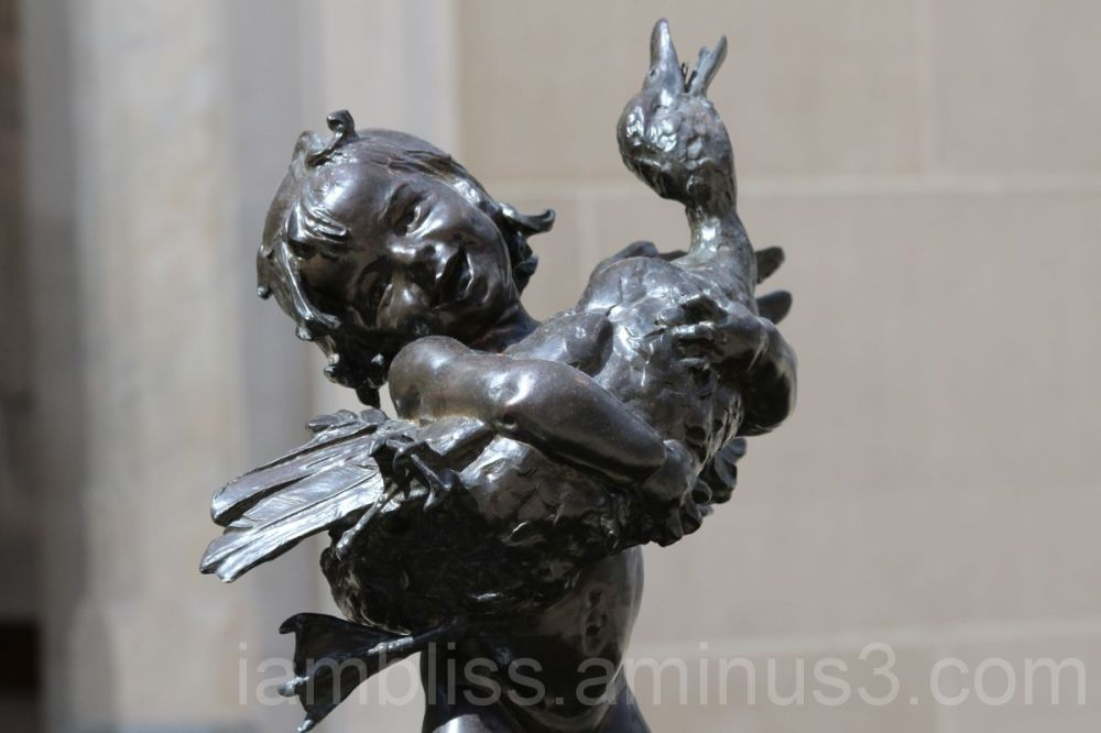Boy and Duck, Frederick William MacMonnies, MET