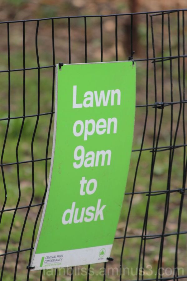 How can you close a lawn?