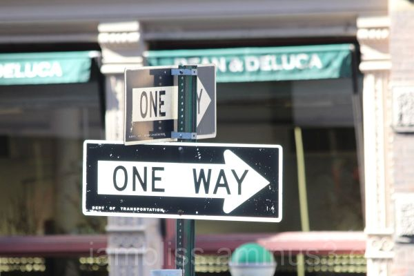 2 one ways
