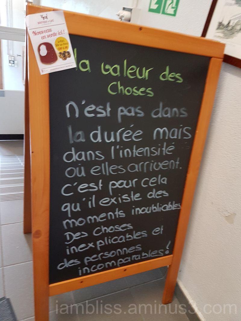 Wisdom ( Chocolate factory, Fribourg, Switzerland)