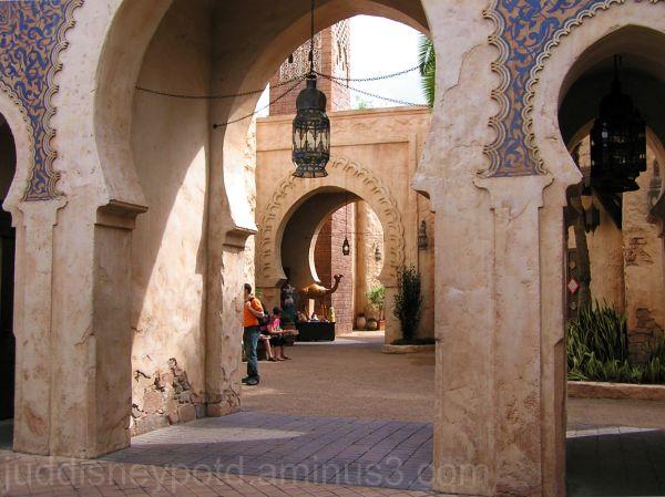 WDW, Walt Disney World, Jud, Epcot, Morocco