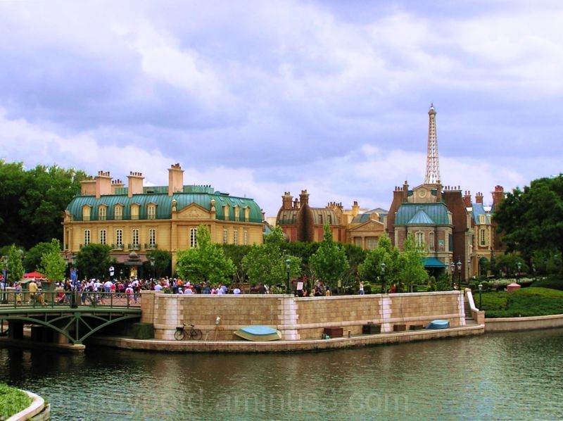 WDW, Walt Disney World, Jud, Epcot, France