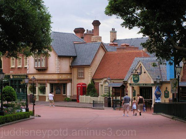 WDW, Walt Disney World, Jud, Epcot, England