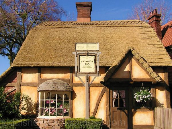 WDW, Walt Disney World, Jud, Epcot, England. Tea
