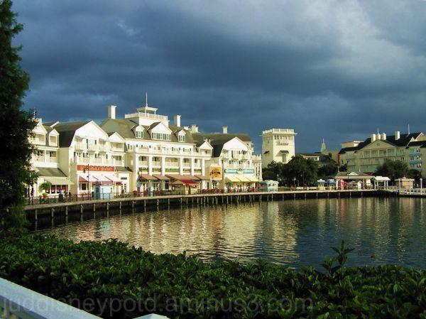 WDW, Walt Disney World, Jud, Boardwalk, Sky, storm