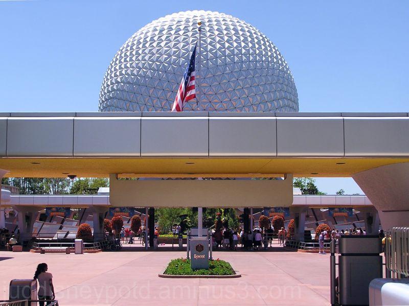 WDW, Walt Disney World, Jud, Epcot, Entrance