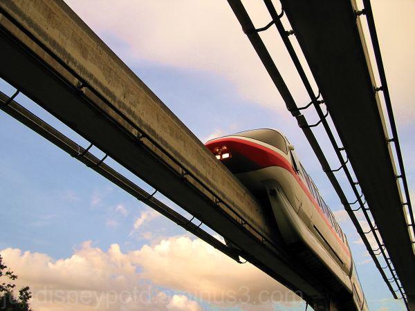 WDW, Walt Disney World, Jud, Monorail