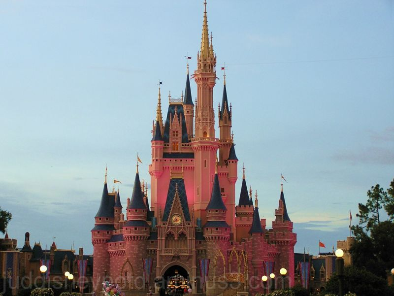 WDW, Jud, Magic Kingdom, Castle, sky