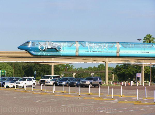 WDW, Walt Disney World, Jud, Monorail, Tronorail