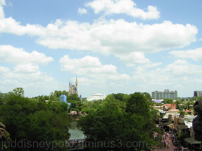 WDW, Jud, Magic Kingdom, Clouds, sky