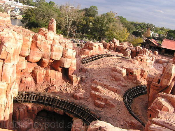 WDW, Jud, Magic Kingdom, Big Thunder Mountain Rail
