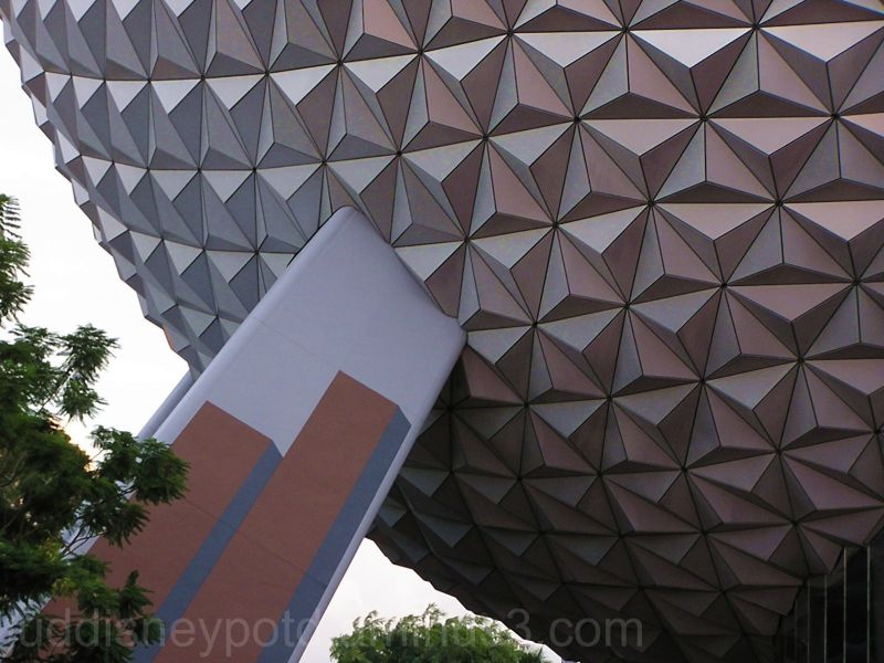 Epcot, Big Ball, Space Ship Earth