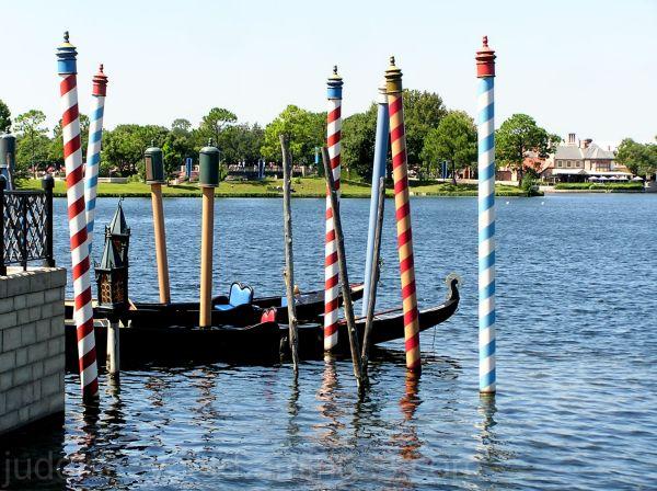 Walt Disney World, Jud, Epcot, Italy, Gondolas