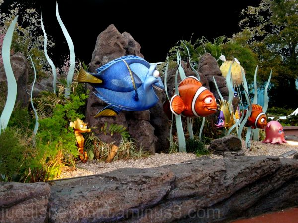Jud, Epcot, The Seas, Nemo and Friends