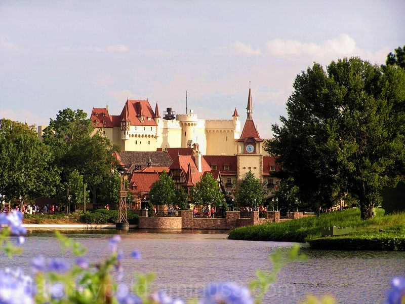 Jud, Epcot, Germany, flowers