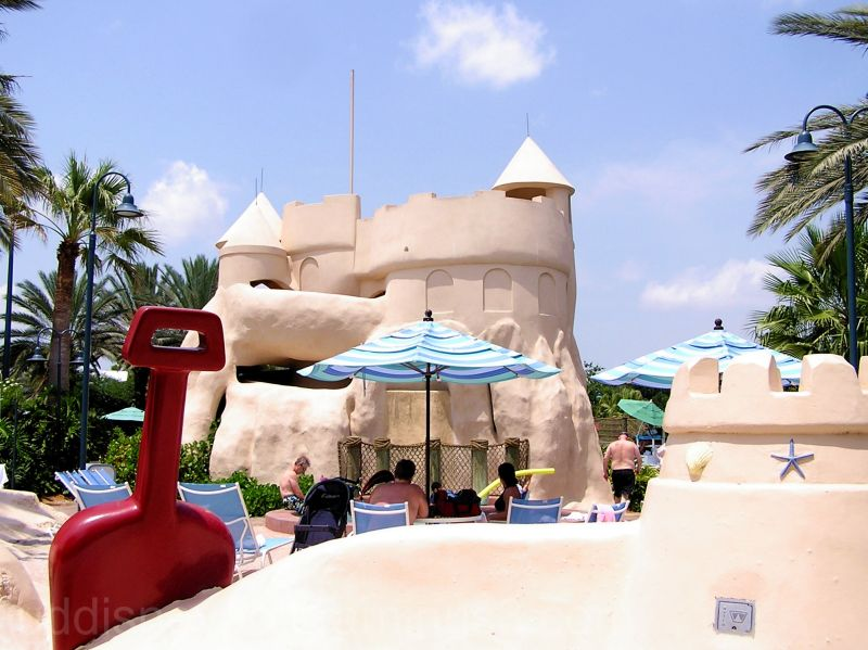 Old Key West, Castle, Sand, Waterslide