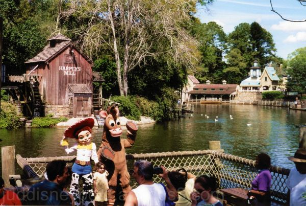 Magic Kingdom, Tom Sawyer Island, Jesse, Toy Story