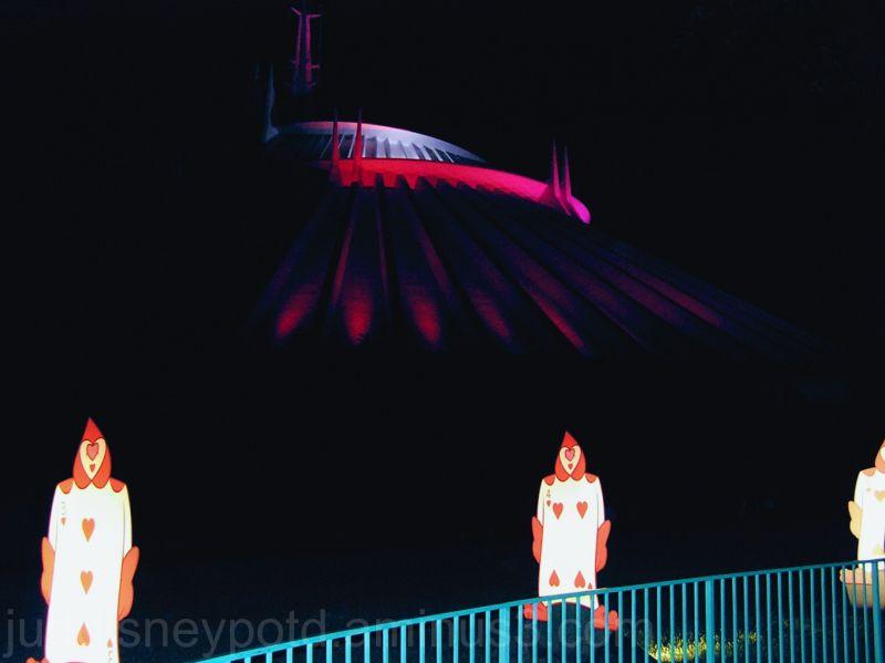 Magic Kingdom, Halloween, MNSSHP, Space Mountain